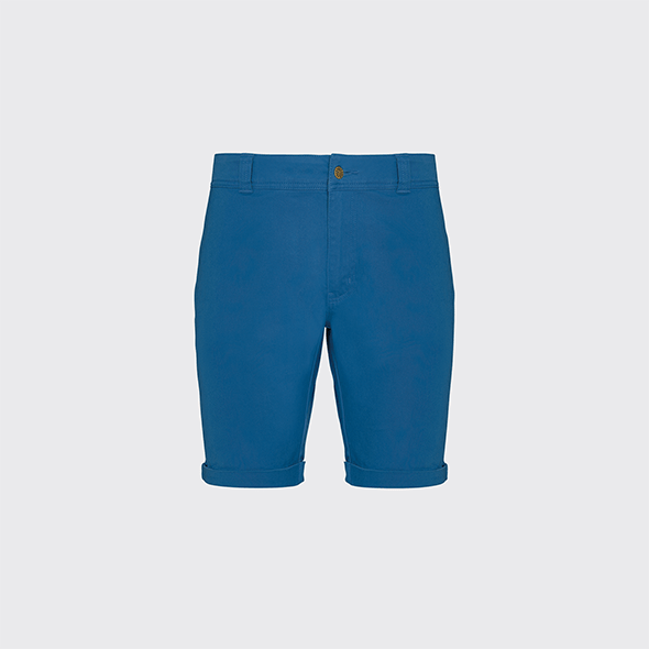 Shorts with folded cuffs and security stitch RINGO