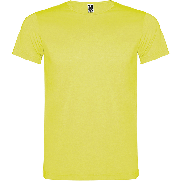 Short sleeve sweater in fluorescent colors AKITA
