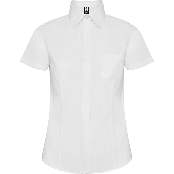 Slim fitted shirt with front and back darts SOFIA