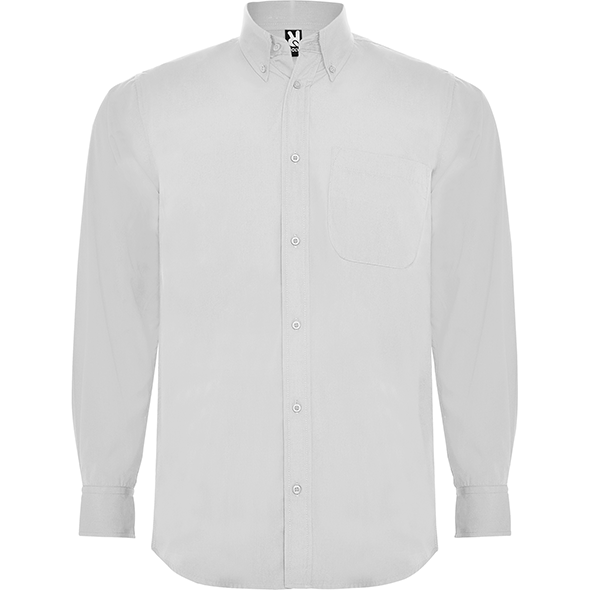 Long sleeve shirt and classical starched collar with 1 button AIFOS L/S