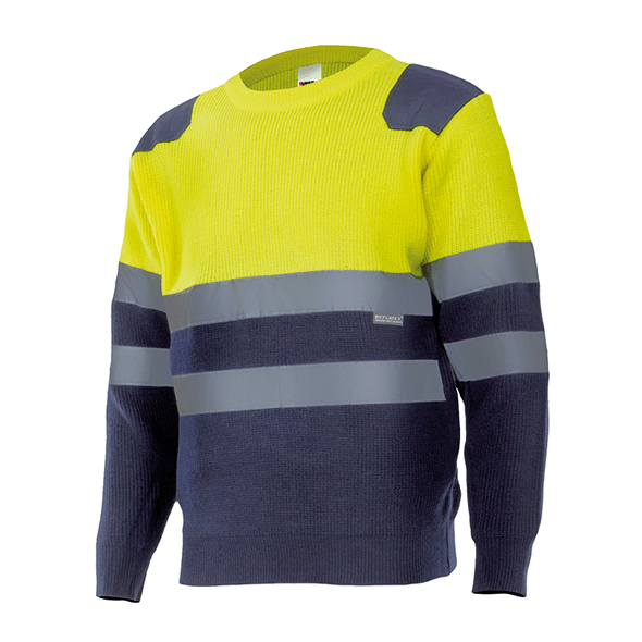 High Visibility Bicolor Sweter