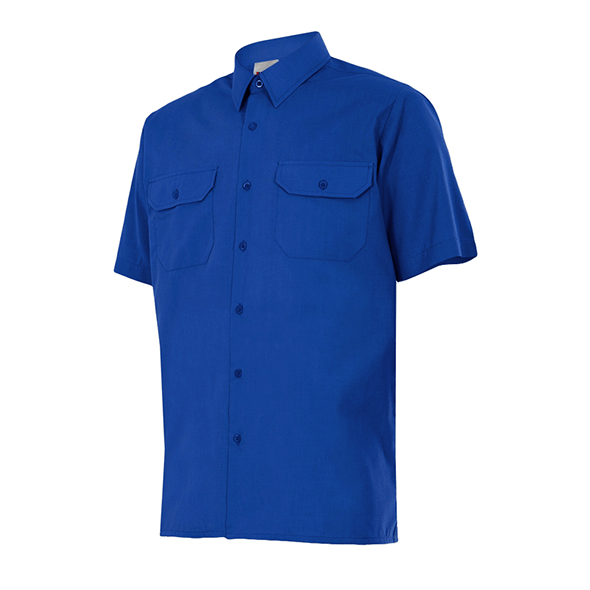 Short Sleeve Shirt and 2 Patch Pockets
